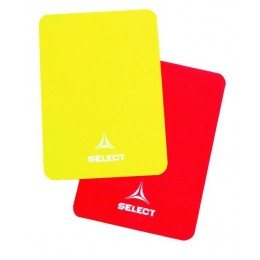 Карточки арбитра Select