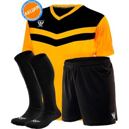 Комплект футбольной формы Swift Romb(футболка+шорты+гетры)brwn