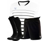 Комплект футбольной формы Swift FINT COOLTHECH (футболка+шорты+гетры)бело-черная