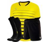 Комплект футбольной формы Swift FINT COOLTHECH (футболка+шорты+гетры)желтая