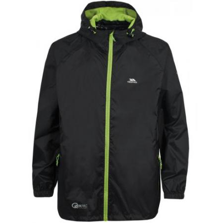 Ветровка Trespass Qikpac Adults Waterproof Packaway Jacket black