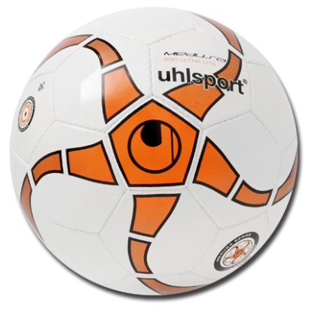 Футзальный мяч Uhlsport Medusa ANTEO 290  ULTRA LITE (детский) 100152601 бело-оранжевый