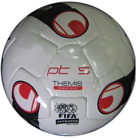 Футбольный мяч Uhlsport PT 5 THEMIS  D.M.C. 4.0.1 (FIFA® approved)