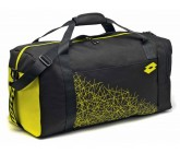 Спортивная сумка Lotto BAG LZG III M (S4311) BLACK/YELLOW SAFETY