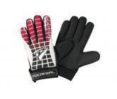 Перчатки вратарские Rucanor G-110 II (красные с черным и белым)