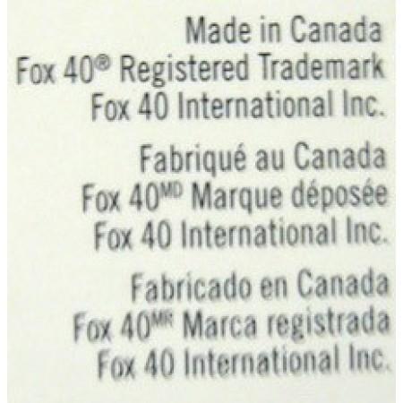 Свисток судейский Fox 40 classic 115 dB