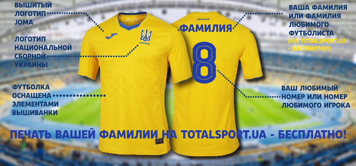 Футбольная форма сборной Укрины желтая