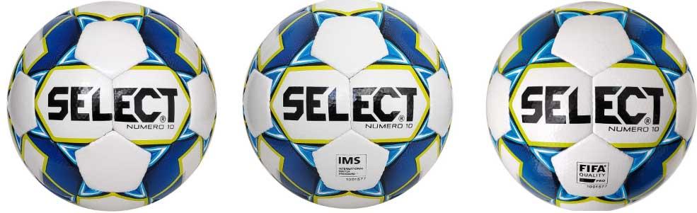Уровни мячей Select