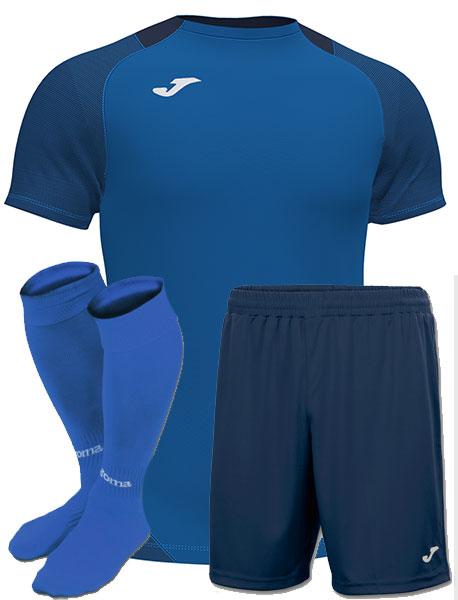 Футбольная форма Joma ESSENTIAL синяя