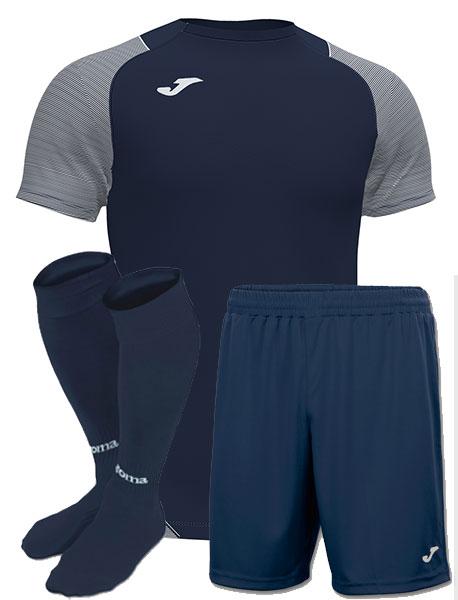 Футбольная форма Joma ESSENTIAL т-синяя