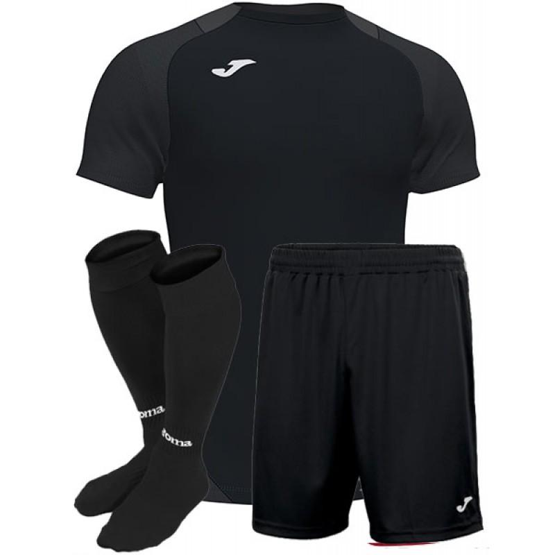 Футбольная форма Joma ESSENTIAL черная