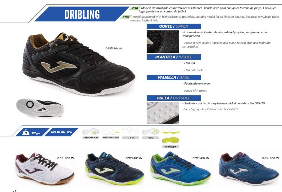 обувь для футзала Joma Dribling из каталога