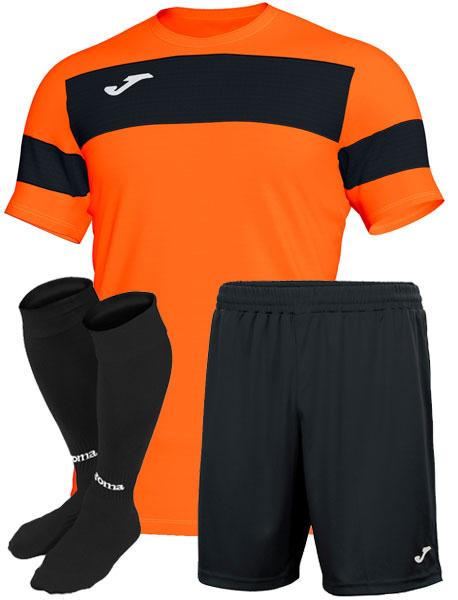 форма Joma Academy II оранжевая