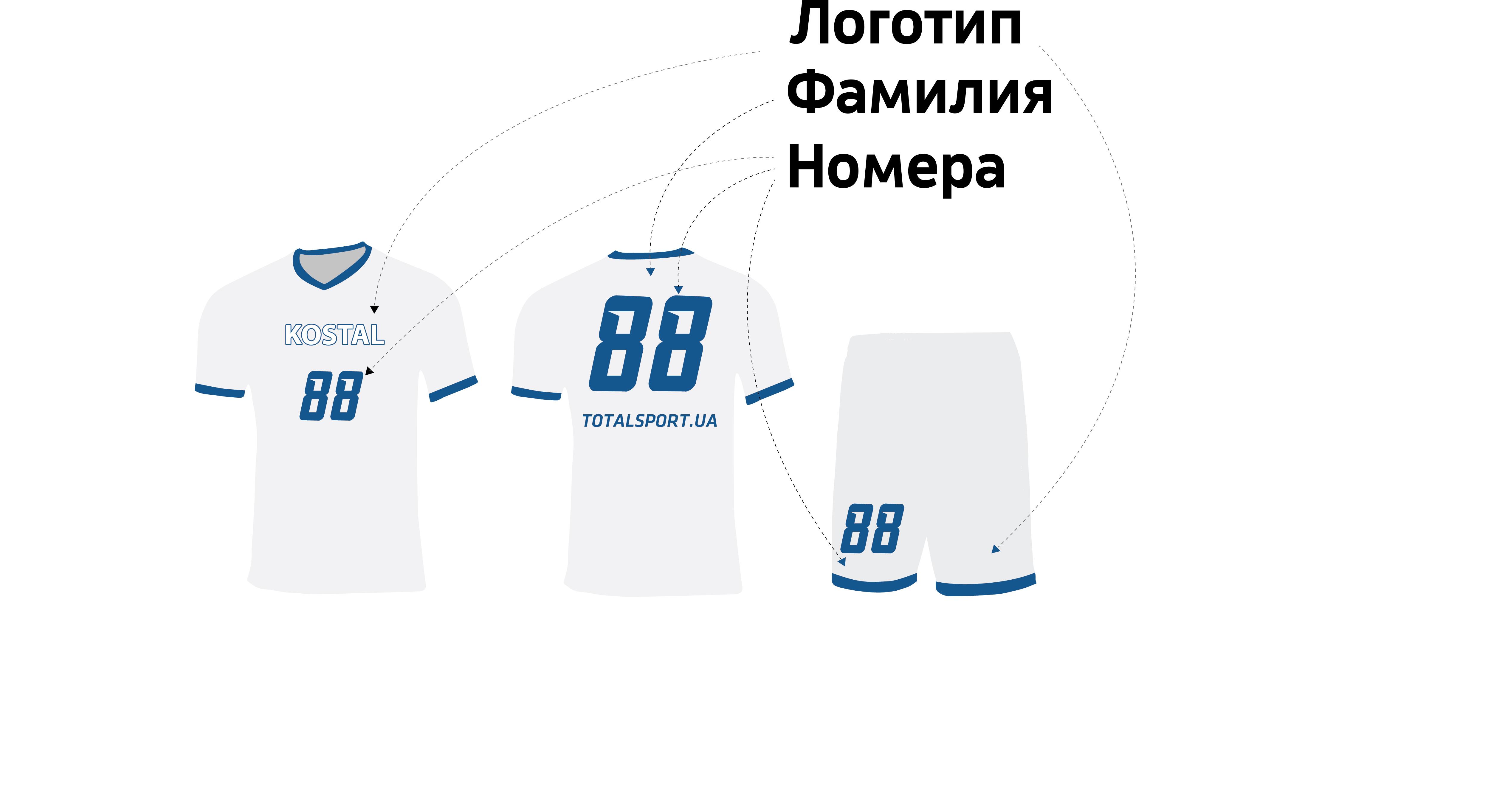 Футбольная форма Костал-Украина