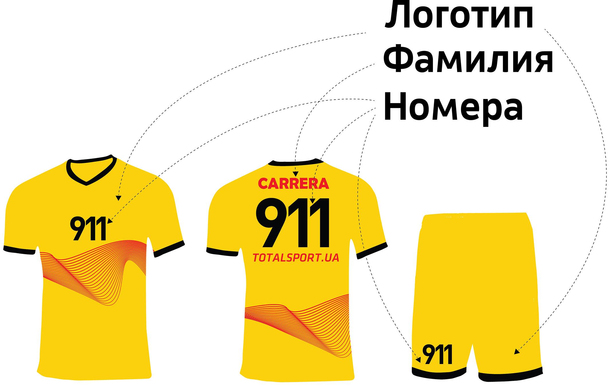 Футбольная форма Порш-Украина
