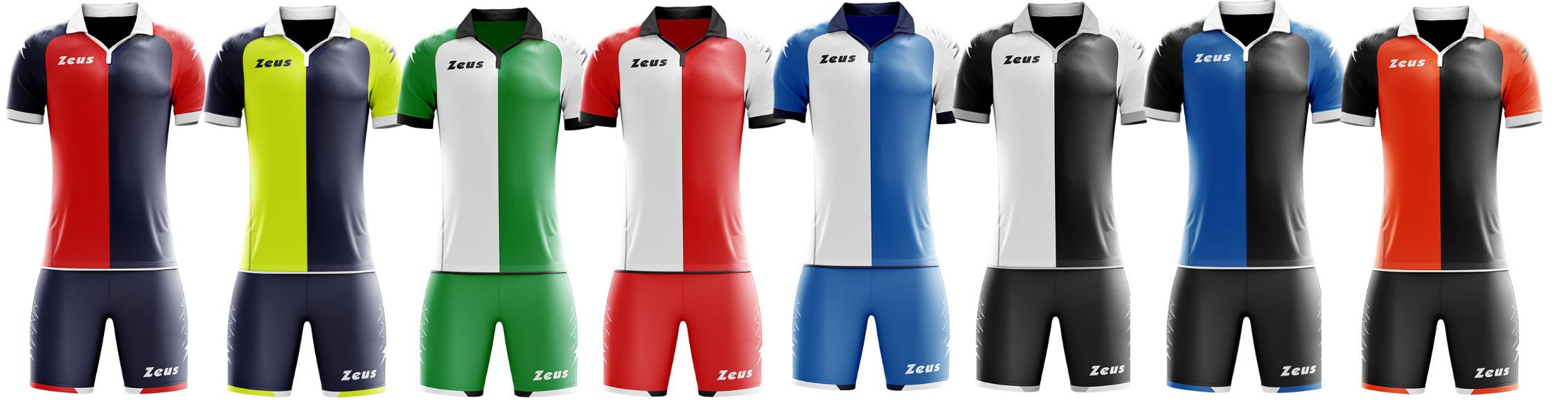 soccer kit zeus