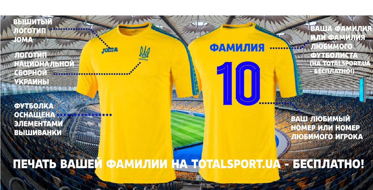 Новая форма сборной Украины по футболу желтая