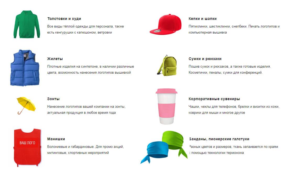 Брендирование одежды Киев