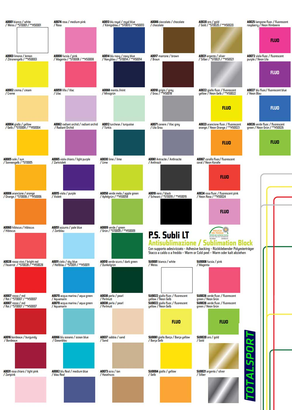 цвета печати номеров на форме