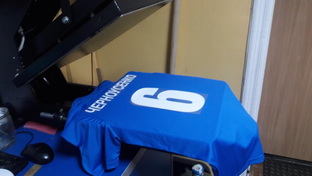печать футбольных номеров