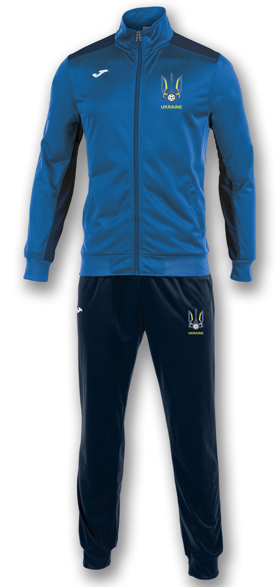 костюм сборной Украины синий