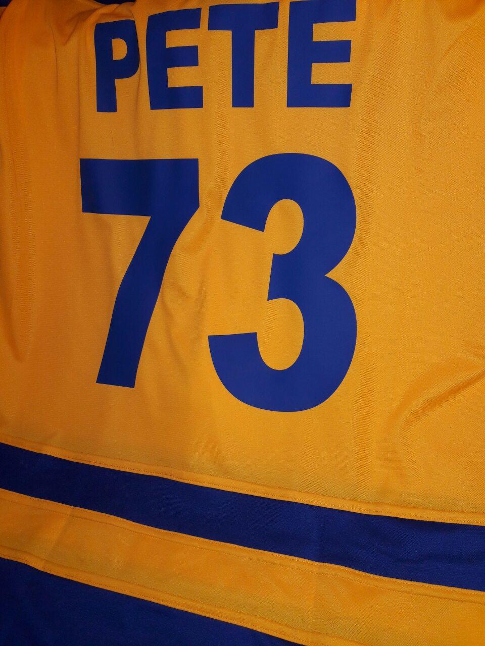 хоккейка с номером