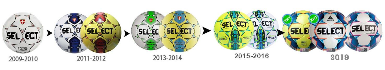 Select futsal mimas эволюция дизайна