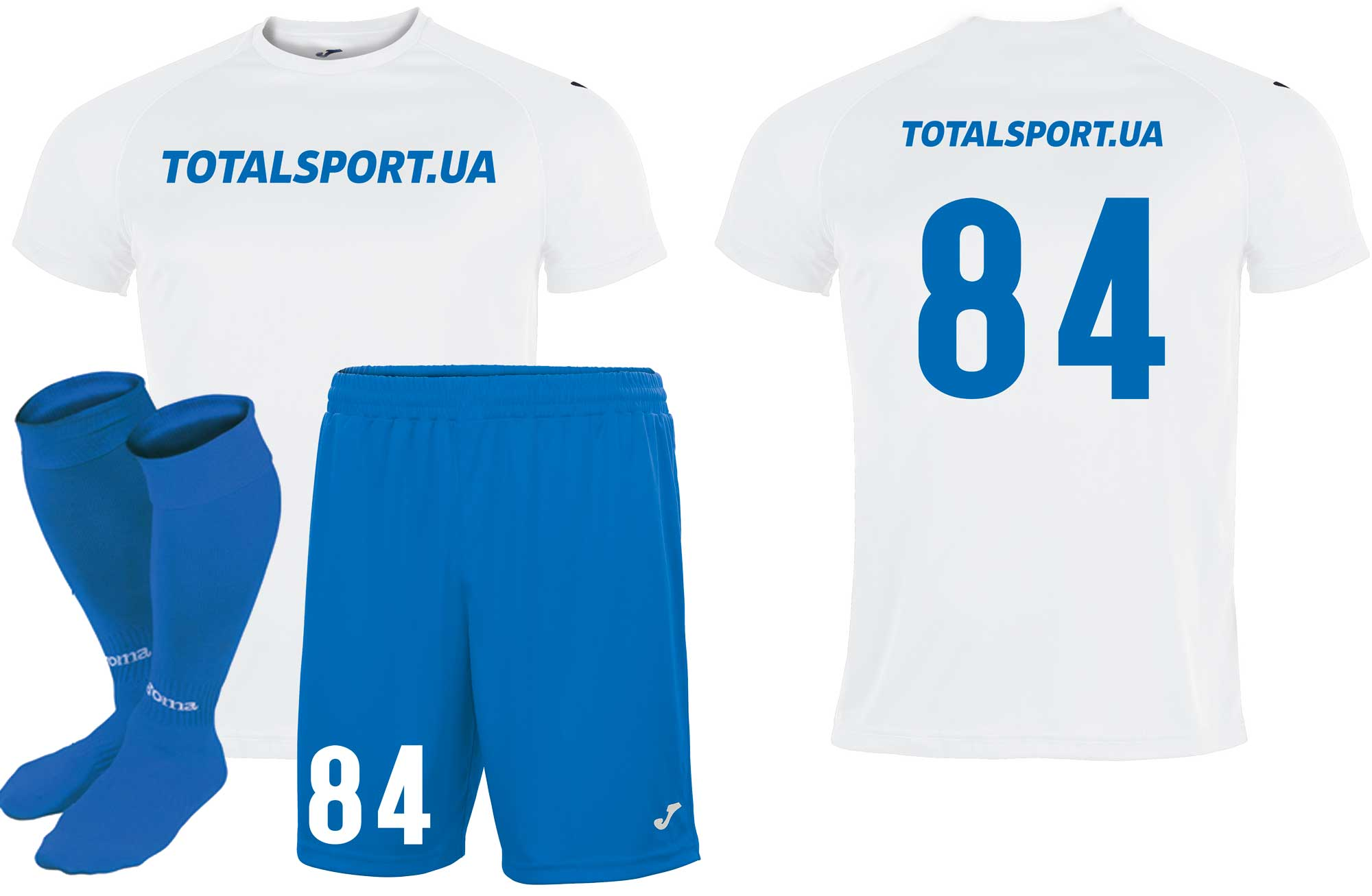 Aкция! Футбольная форма Joma EVENTOS 100807.200-7(футболка,шорты,гетры)