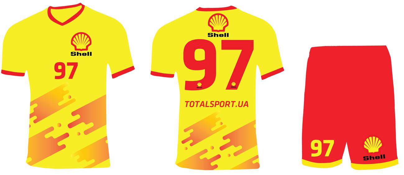 форма Shell