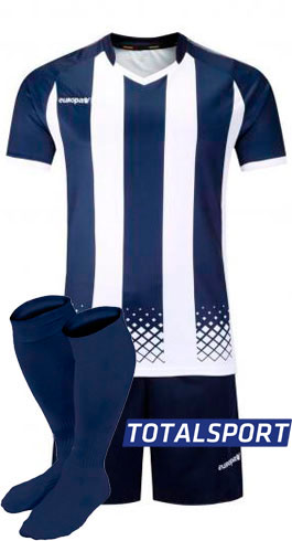 Футбольная форма Europaw 020 синяя фото 1