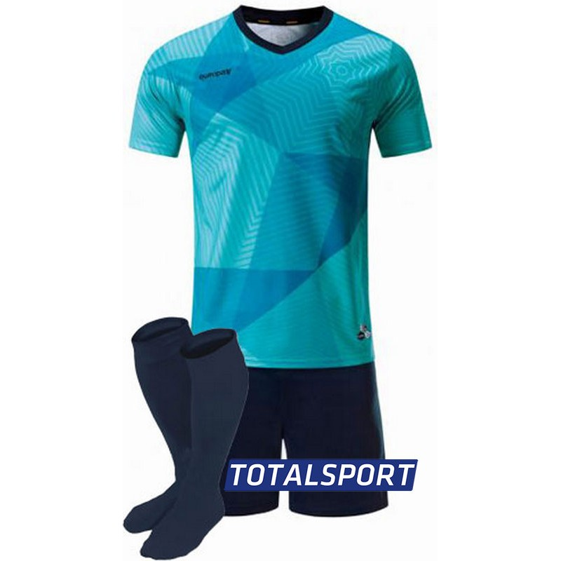 футбольная форма для команд Europaw голубая