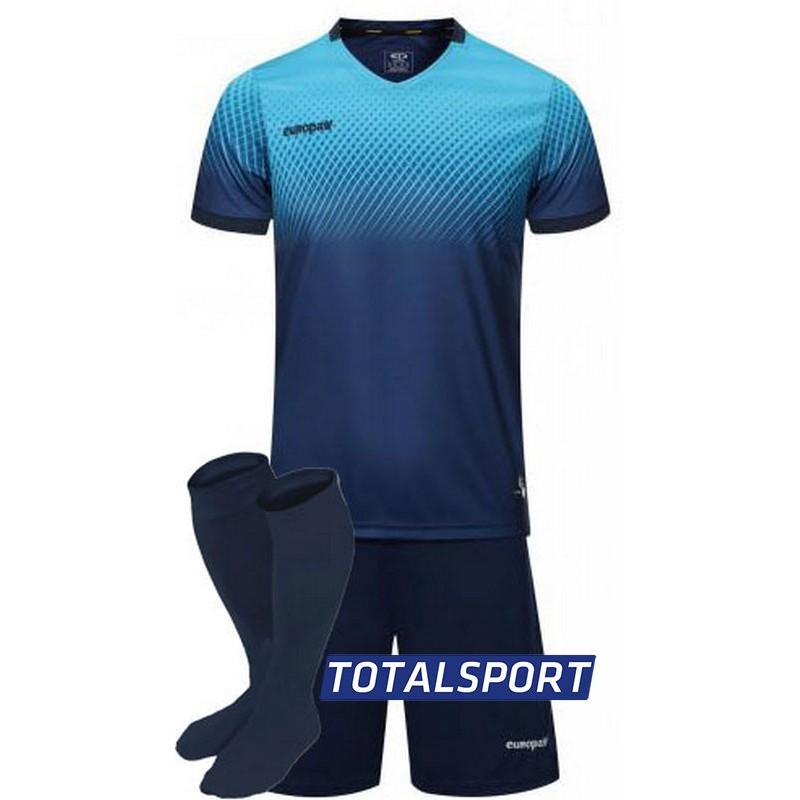футбольная форма для команд Europaw синяя