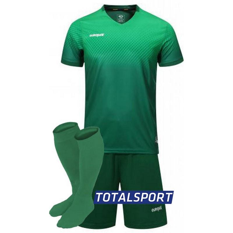 футбольная форма для команд Europaw зеленая