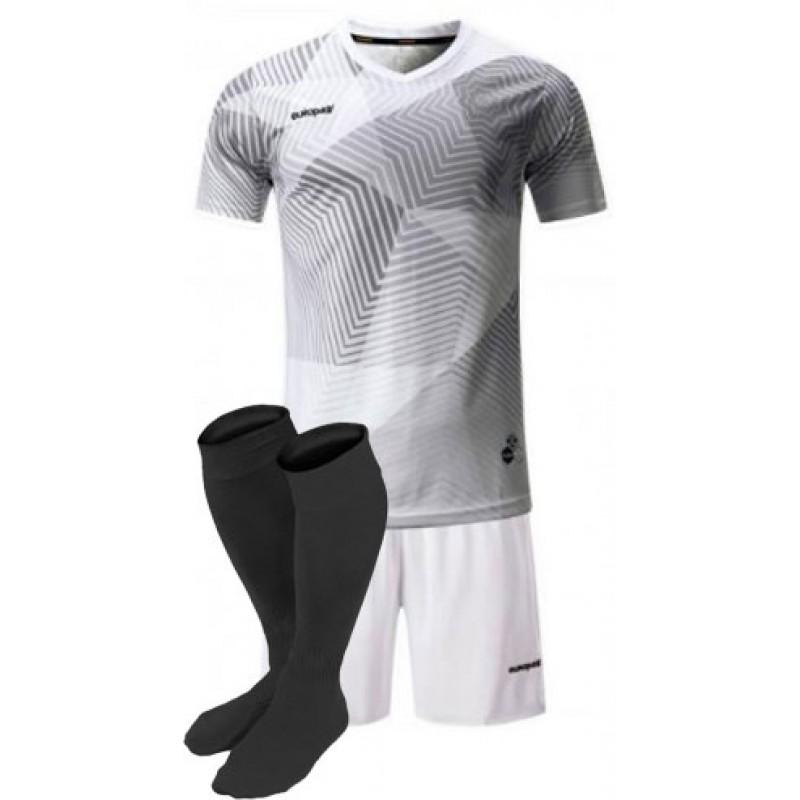 футбольная форма для команд Europaw серая