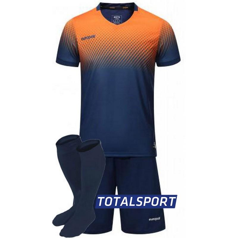 футбольная форма для команд Europaw оранжевая
