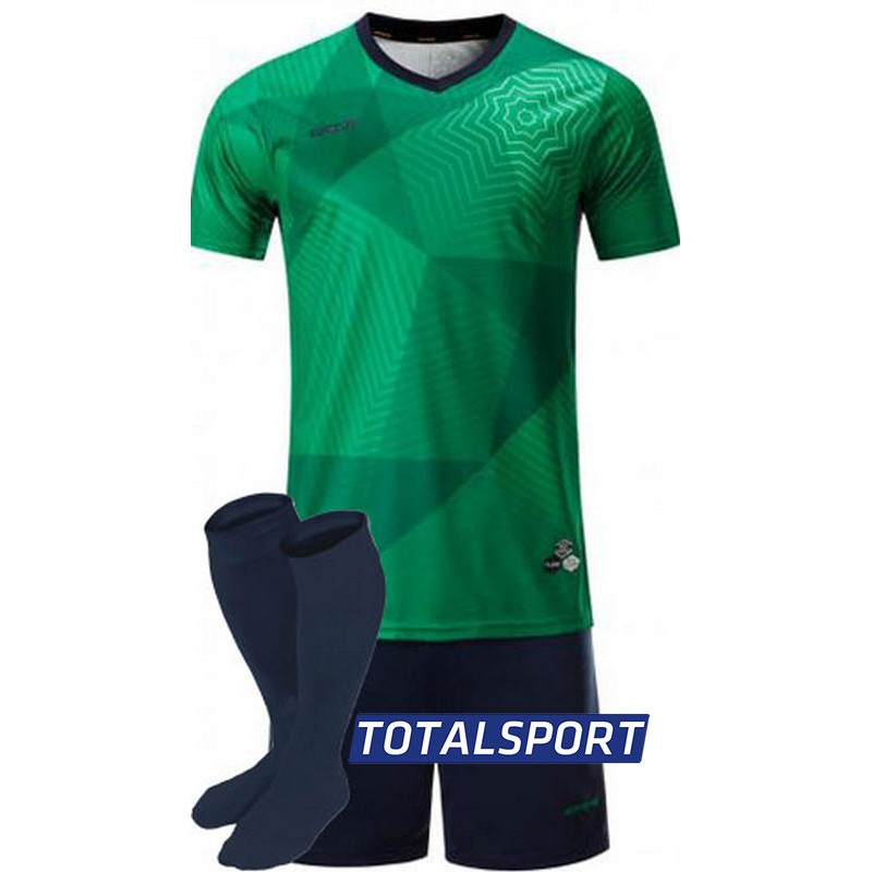футбольная форма для команд Europaw зеленая фото 2