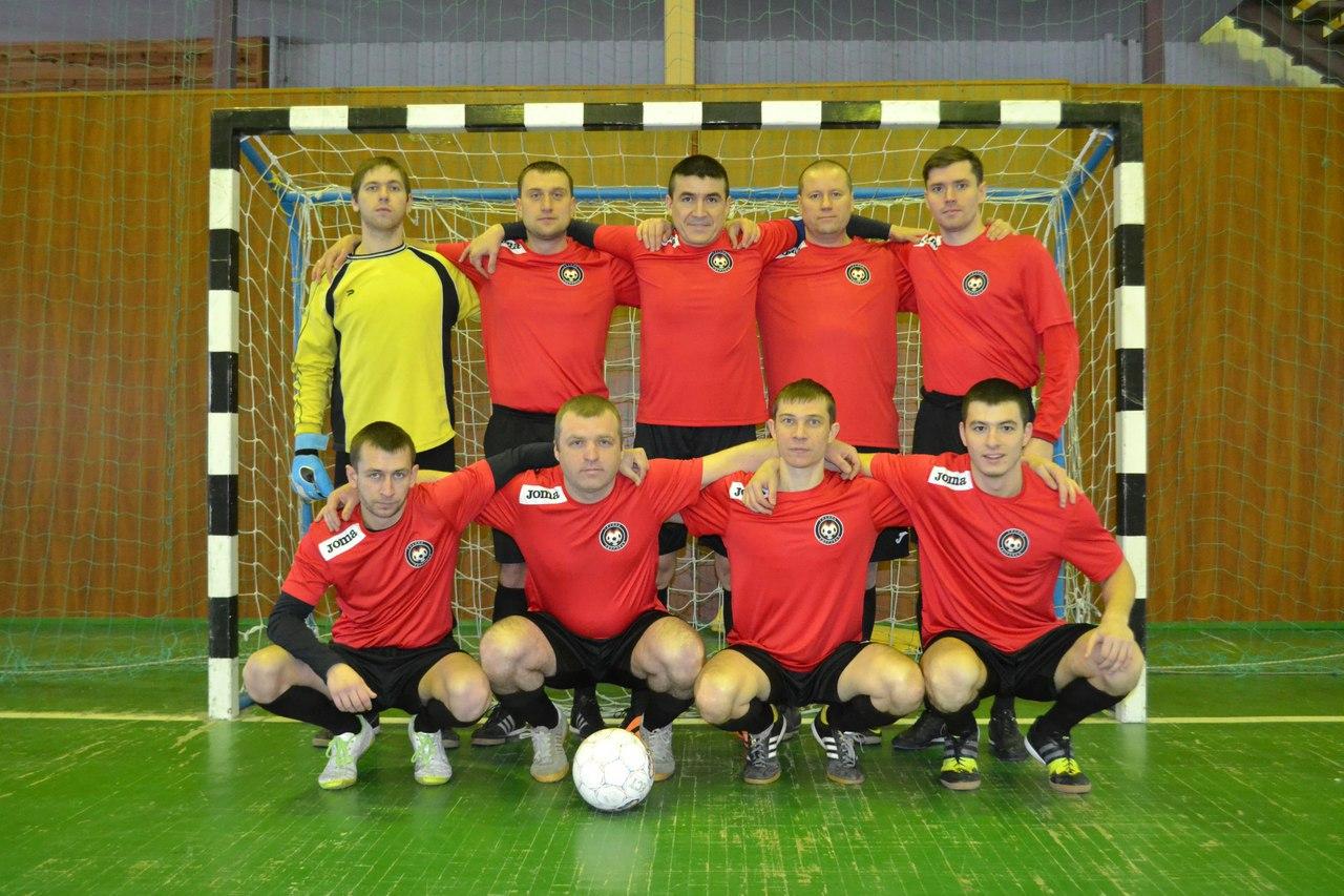 футбольная команда красная