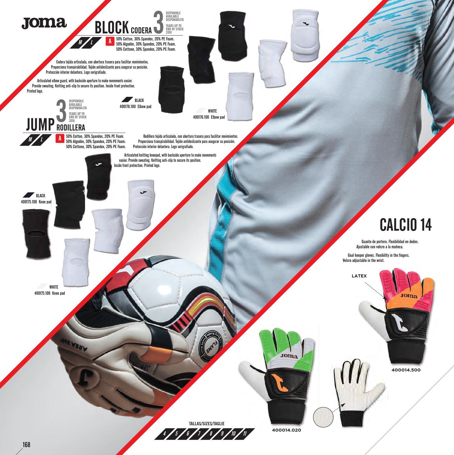 Перчатки вратарские Joma AREA 14