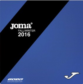 Каталог Joma Fall/Winter 2016