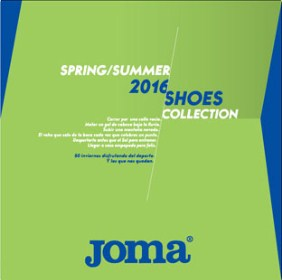 Каталог Joma Spring/Summer Shoes 2016