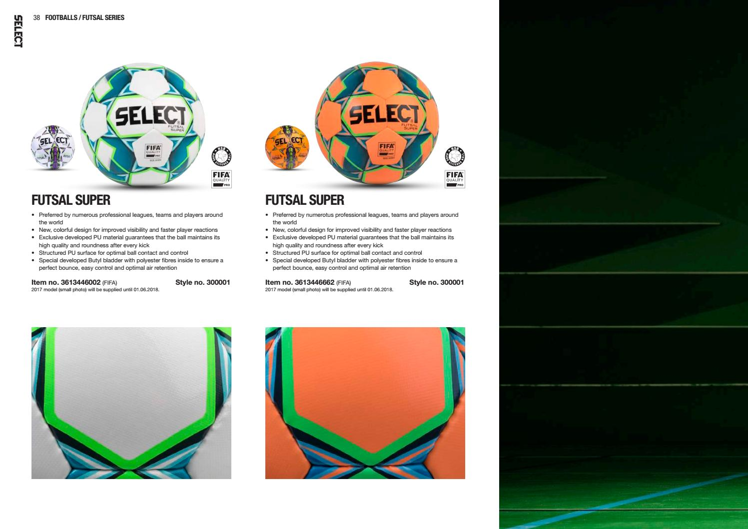 фото  из каталога Select Futsal Super