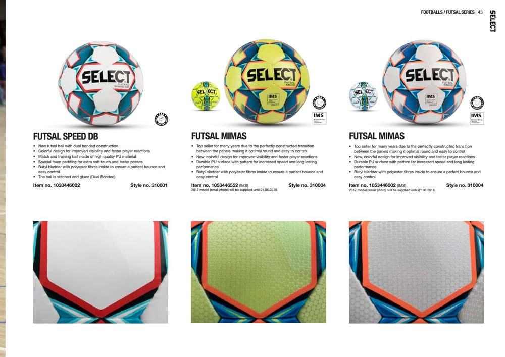 Select Futsala mimas все фото из каталога