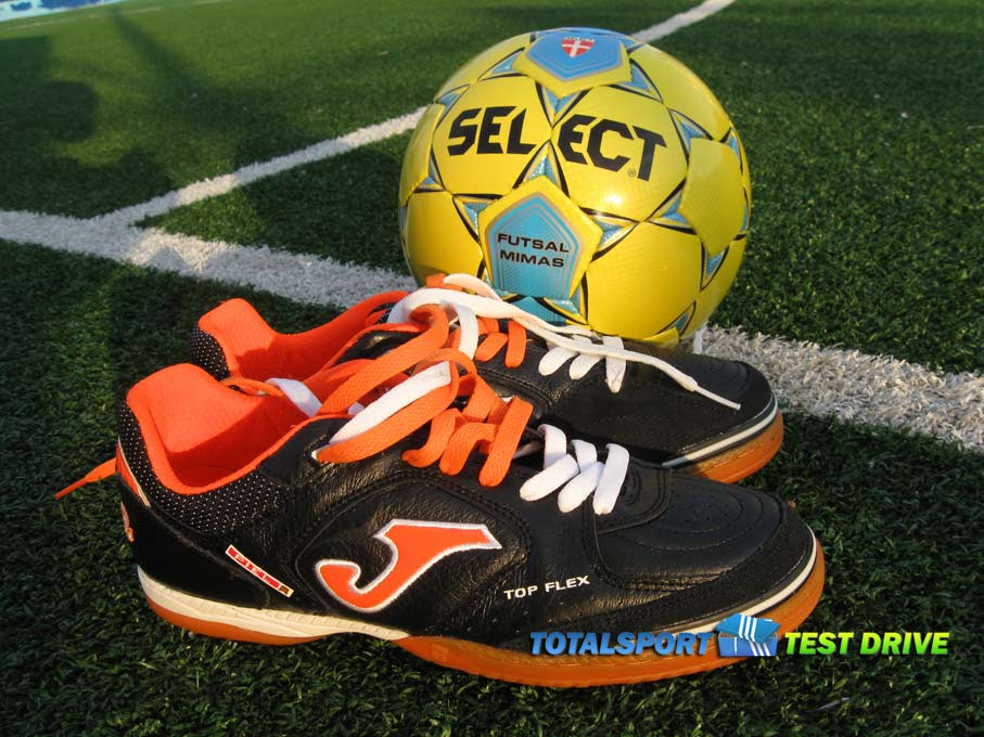 select futsal mimas и обувь Joma Top Flex