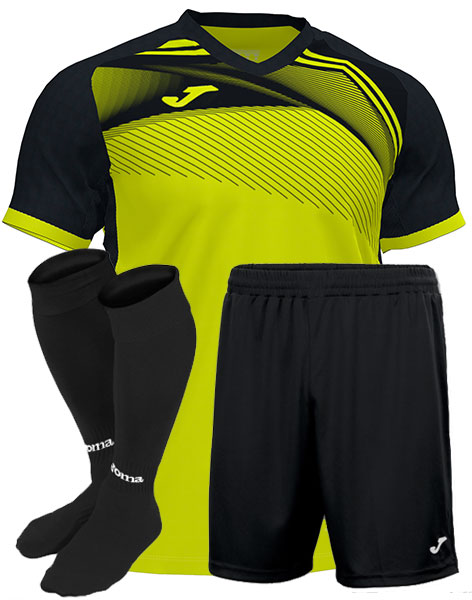 Футбольная форма Joma SUPERNOVA II желтая