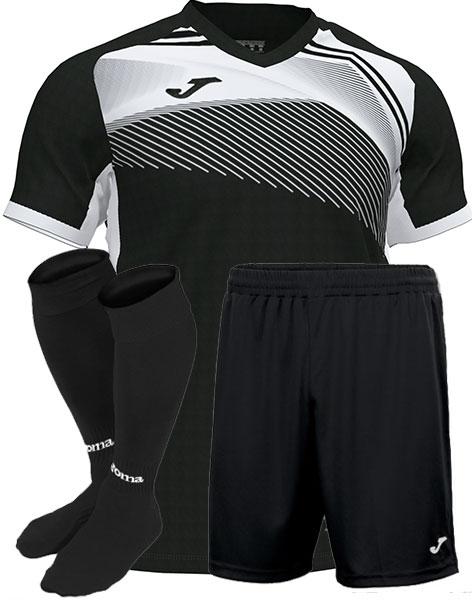 Футбольная форма Joma SUPERNOVA II черная