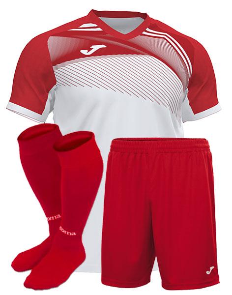 Футбольная форма Joma SUPERNOVA II красная