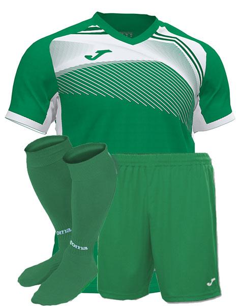 Футбольная форма Joma SUPERNOVA II зеленая