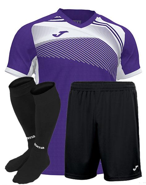 Футбольная форма Joma SUPERNOVA II фиолетовая