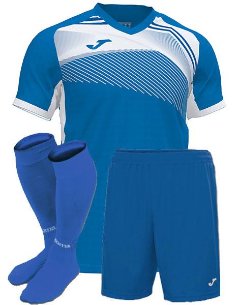 Футбольная форма Joma SUPERNOVA II голубая