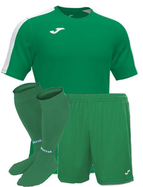 Футбольная форма Joma Academy III зеленая